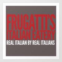 Frugatti's Art Print