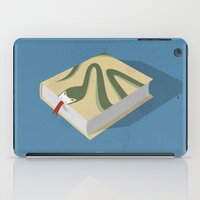 Poisoned words iPad Case