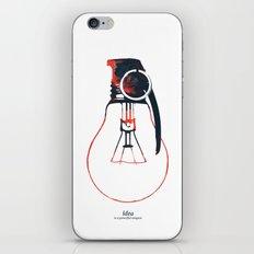 Idea Bomb (2) iPhone & iPod Skin