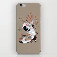 OKAMI RIBBONS iPhone & iPod Skin