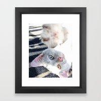 Beautifully Odd  Framed Art Print