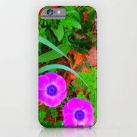 iPhone & iPod Case featuring poppies will make them sleep by Katie Troisi
