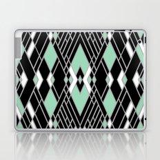 Art Deco Zoom Mint Laptop & iPad Skin