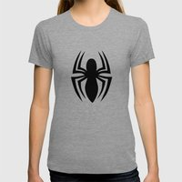 Spider-Man Womens Fitted Tee Tri-Grey SMALL