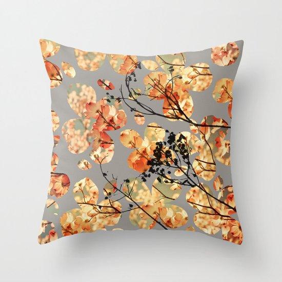 Jade Throw Pillows : Dogwood Quilt Throw Pillow by Olivia Joy StClaire Society6