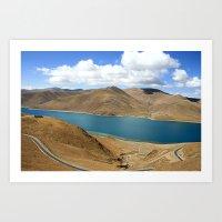 Namtso Lake - Tibet Art Print