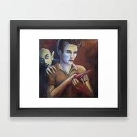 The Assassination of Edward Cullen by the Coward Nosferatu Framed Art Print