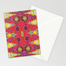 Fancy Red Stationery Cards