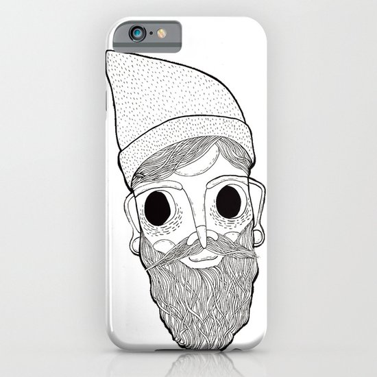 Beard Man iPhone & iPod Case