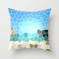 Abstract Geometric Backg… Throw Pillow