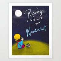 Reading Will Cure Your W… Art Print