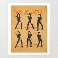 Move Like Jagger (MOVE L… Art Print