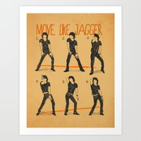 Move Like Jagger (MOVE L… Art Print