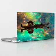 THE AFRICAN BOAT IN THE … Laptop & iPad Skin