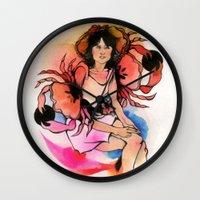 Cancer (Zodiac series) Wall Clock