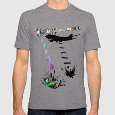 LSD Acid Mens Fitted Tee Tri-Grey SMALL