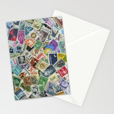 Vintage Postage Stamp Collection - 01 Stationery Cards