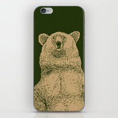 Kodiak Bear iPhone & iPod Skin