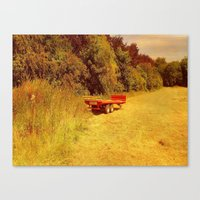 Summer Mowing. Canvas Print