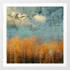 Everglades Abstract Art Print