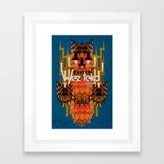 Dodi Owl of the Wezteka Union. Framed Art Print