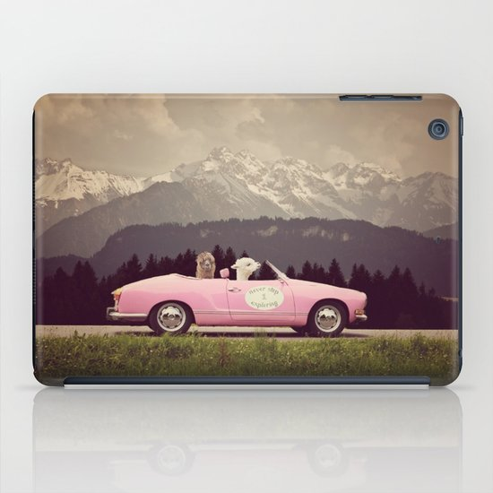 NEVER STOP EXPLORING VII iPad Case