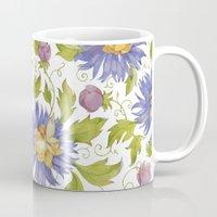 Watercolor pattern Mug