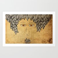 He Is An Architect! Art Print