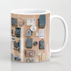 Cameras Organized Neatly Mug