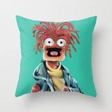 Pepe The King Prawn Throw Pillow