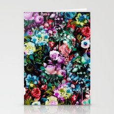 Multicolor Floral Pattern Stationery Cards