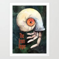 The Keen Finger Art Print