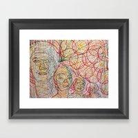 Brother's Good Vibration… Framed Art Print
