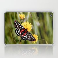 A Red Dotted Checkerspot Laptop & iPad Skin
