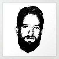 RossFace Art Print