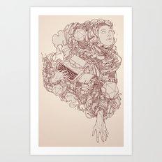 Hand of God Art Print