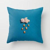 Kernel Cloud Throw Pillow