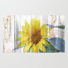 Sunflower Glow Rug