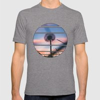 Hollow Sunset Mens Fitted Tee Tri-Grey SMALL