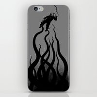 iPhone & iPod Skin featuring The Abyss by pigboom el crapo