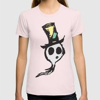 Ghost Womens Fitted Tee Light Pink SMALL