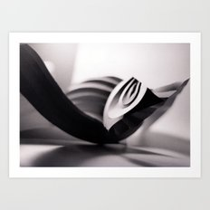 Paper Sculpture #1 Art Print