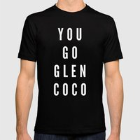 You Go Glen Coco Mens Fitted Tee Black SMALL