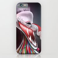 iPhone & iPod Case featuring women_ผีตาโขน by wit_art