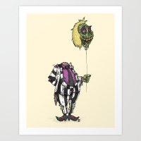Zombie Juice Art Print