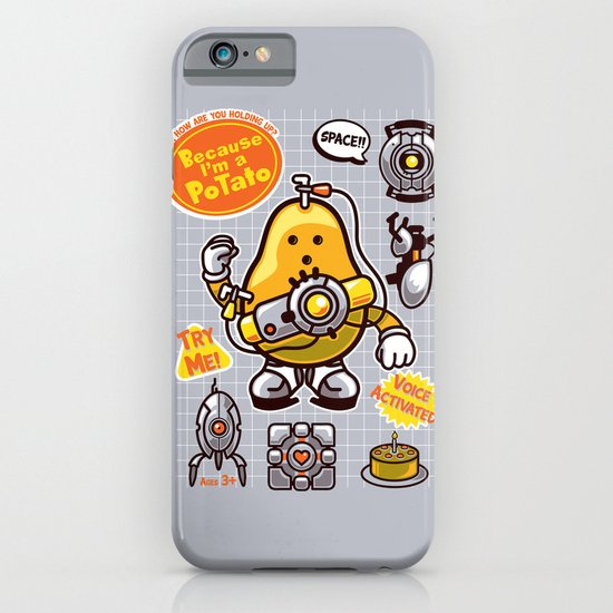 Mrs. Potato GLADos iPhone & iPod Case