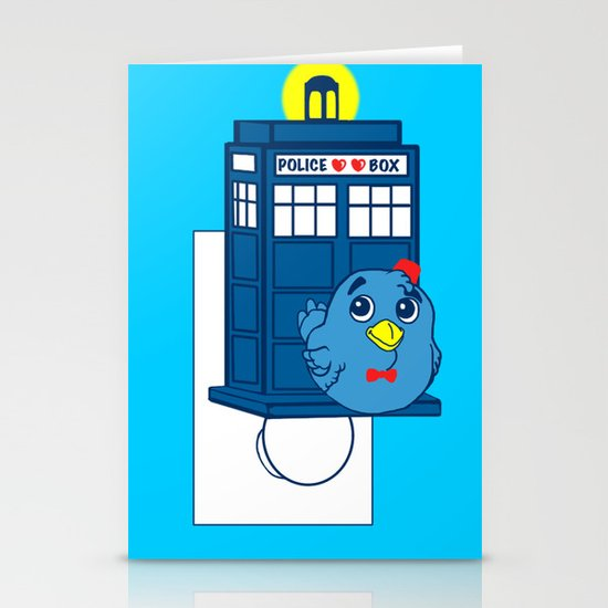 Who watches over you Stationery Card