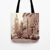 London Girl Tote Bag