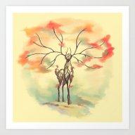 Essence Of Nature - A De… Art Print