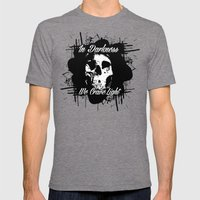 In Darkness, We Crave Li… Mens Fitted Tee Tri-Grey SMALL